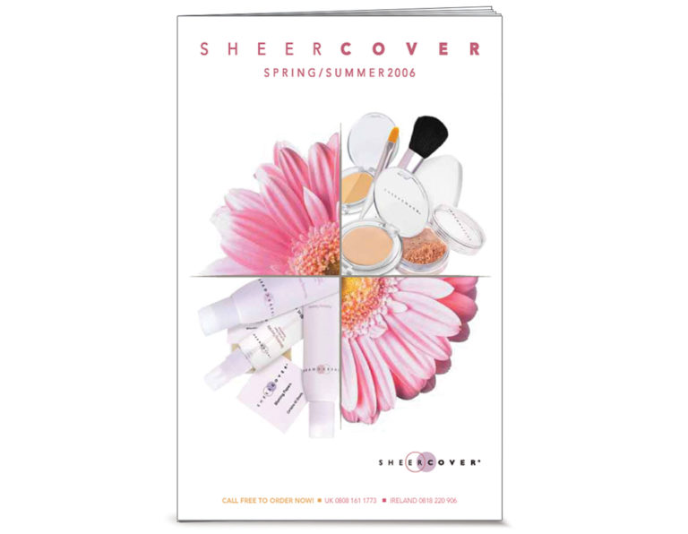 Gunthy Renker's Sheercover cosmetic catalog