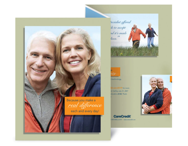 Care Credit direct mail