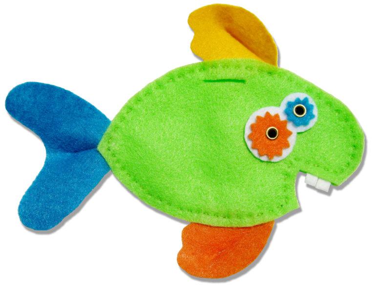 Felta Fish feltie gift pouch