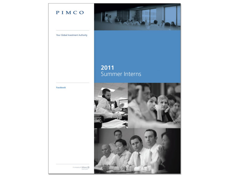 PIMCO Summer Intern Facebook