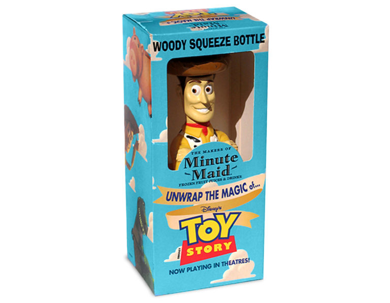 Toy Story and Minute Maid Juice toy